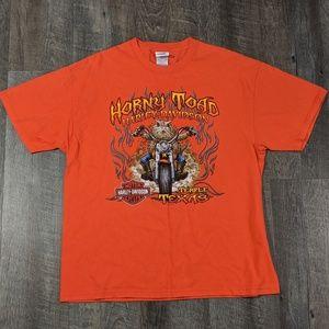 Harley Davidson 2007 Toad Shirt XL